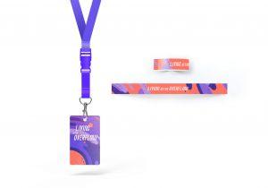 Badge + Bracelet