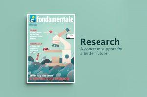 Cover illustration of Fondamentale magazine