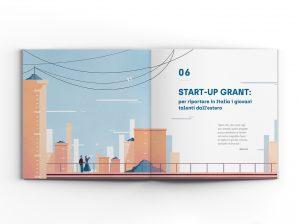 Illustrazione Libro Grandi Donatori AIRC